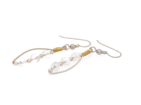 Earrings Moonstone Equality