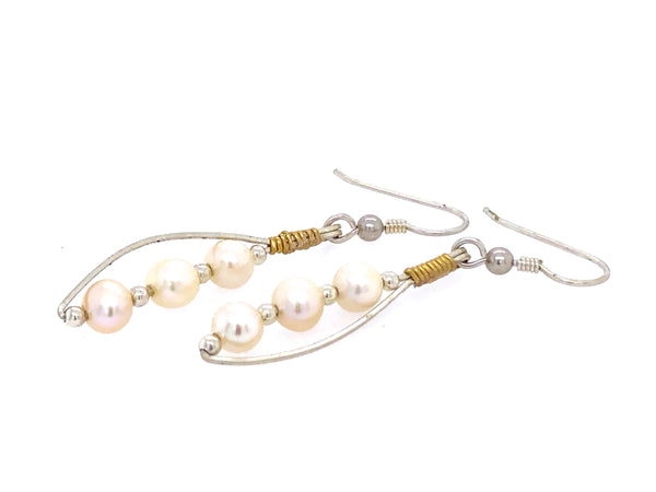 Earrings Pearl Equality