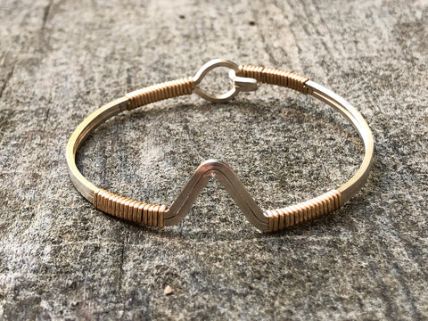 V Shape Stacking Bangle