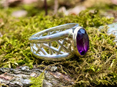Amethyst Connection Series Gemstone Ring