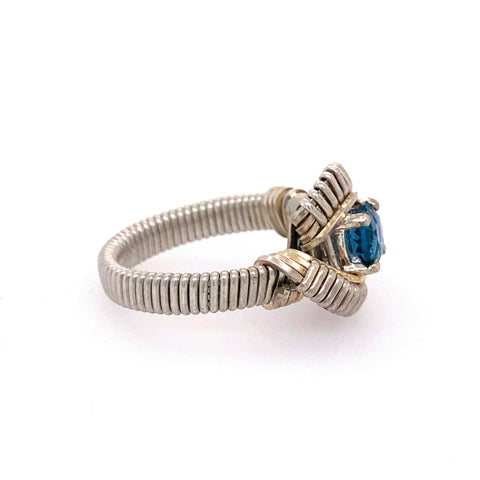Classic London Blue Topaz Ring