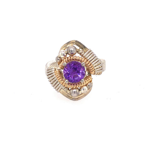 Amethyst Orion Ring