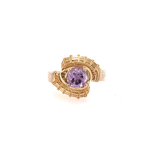 Pulse Amethyst Ring