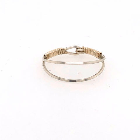 Split Band Stackable Ring