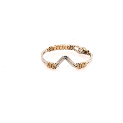 V Shape Stackable Ring