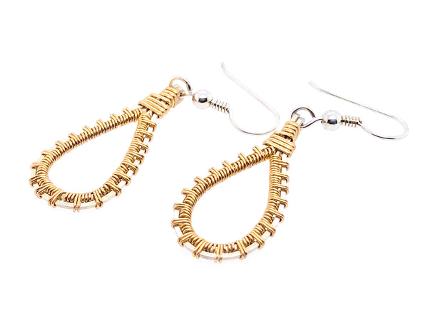 Pulse Teardrop Earrings