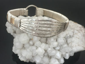 Hammered Texture Elite Classic Bangle