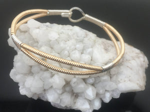 Split Band Bangle Bracelet