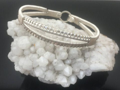 Elite Split Band Bangle Bracelet