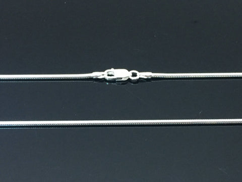 2.5 mm Sterling Silver Snake Chain