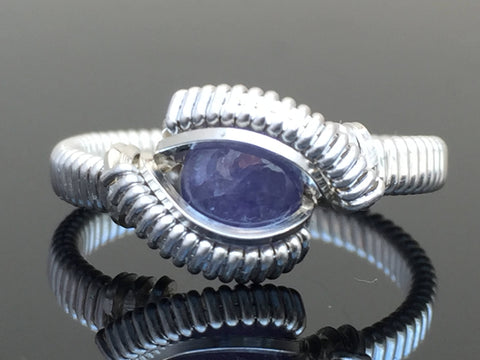 Classic Mini Tanzanite Ring