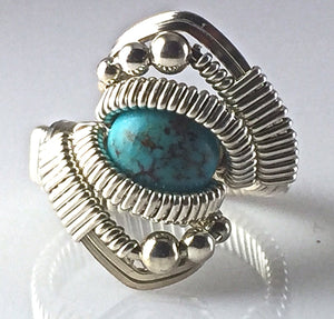 Orion Chinese Turquoise Ring