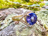 3 carat Tanzanite Flow Series