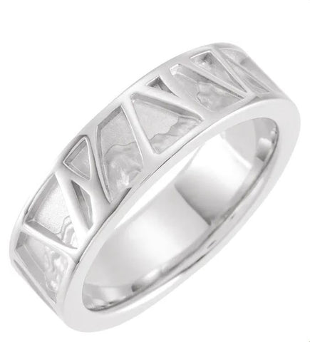 Organic Men's Wedding Band