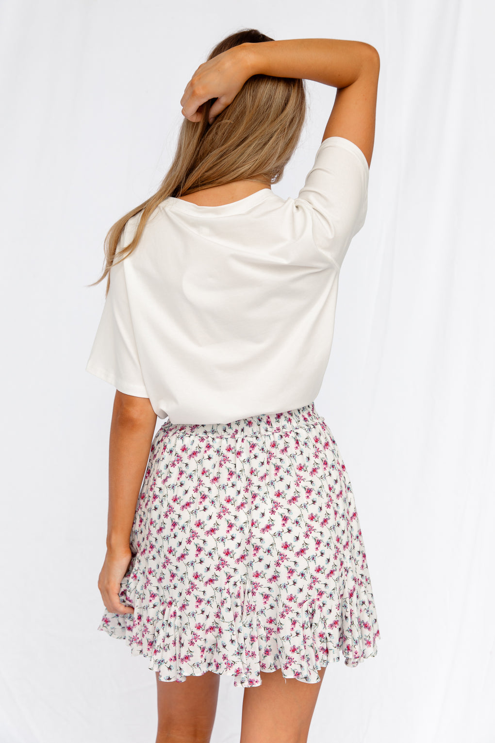 SUNSHINE & DAISIES TOP WHITE