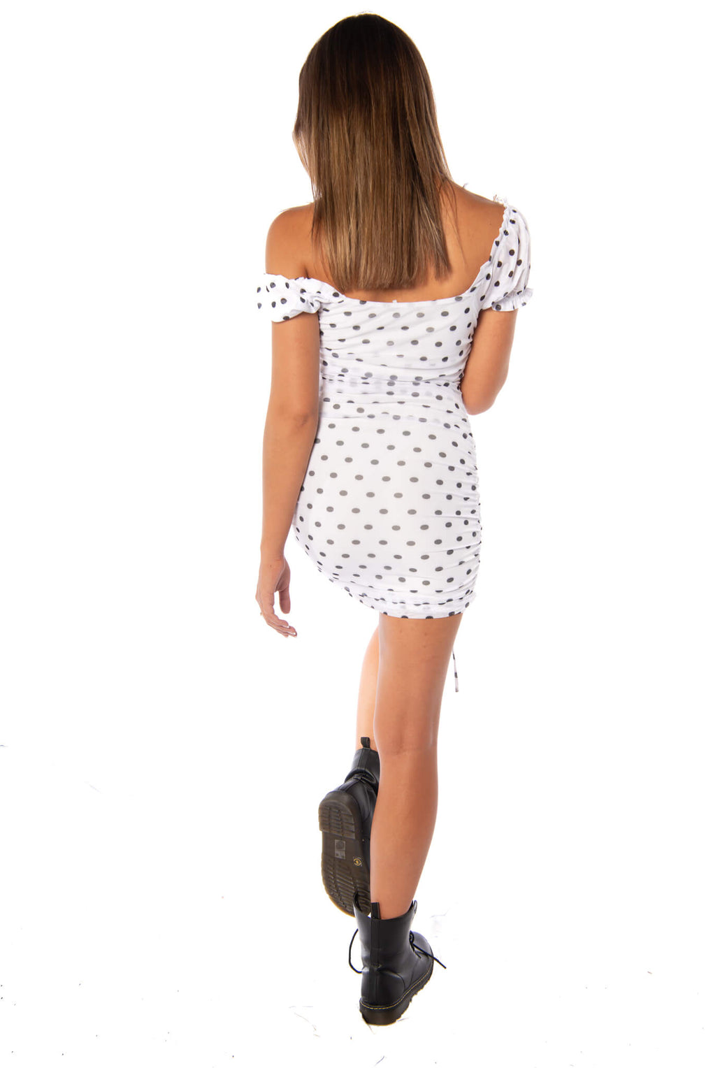 RACE DAY DRESS - WHITE