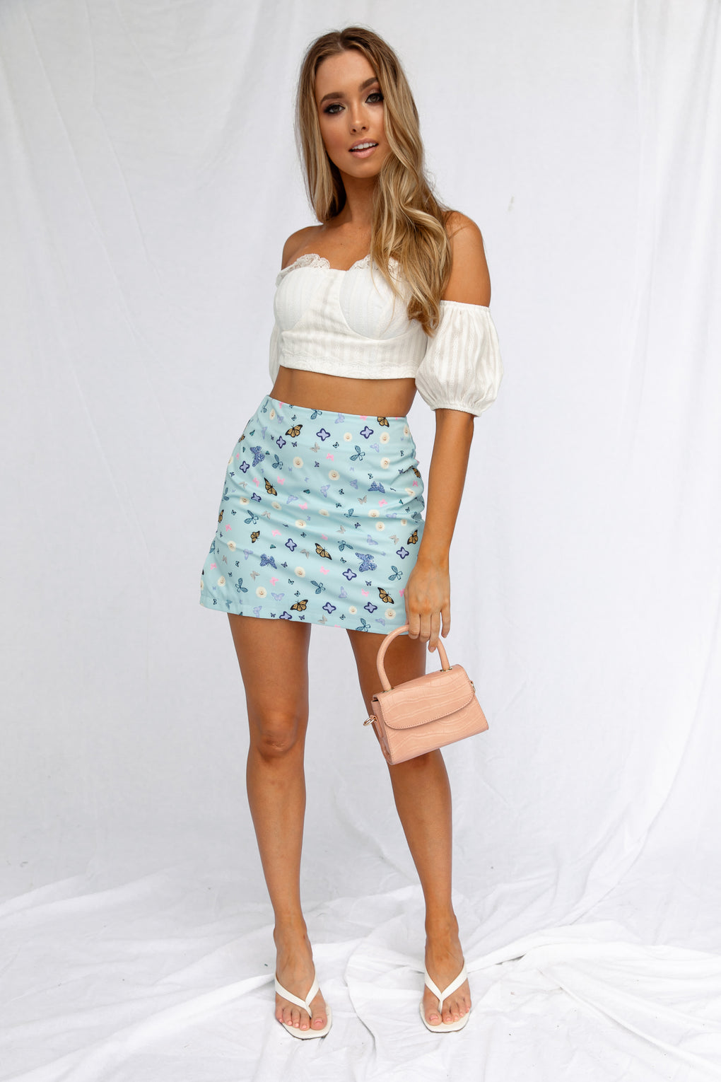 CHASING BUTTERFLIES SKIRT