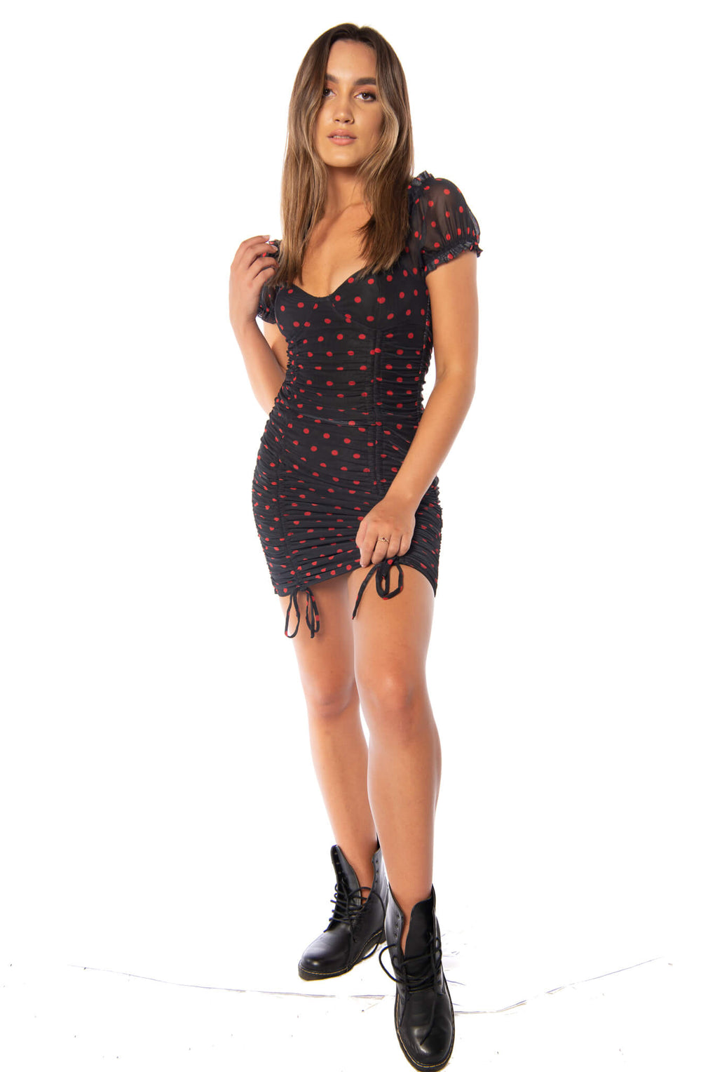 RACE DAY DRESS- BLACK