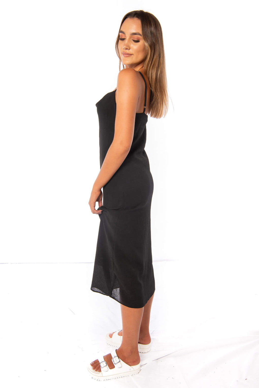 BUTLER DRESS - BLACK
