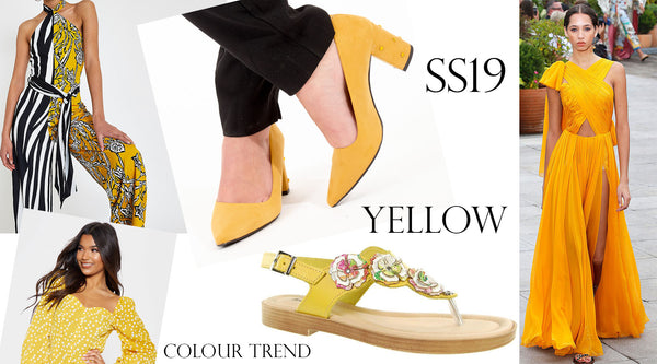 Yellow – SS19 Trend!!