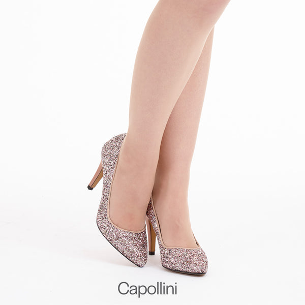 How to wear Sparkly Shoes with Capollini