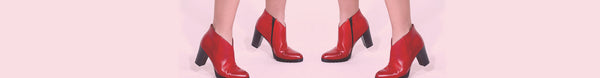 How to Wear Red Shoes This Season