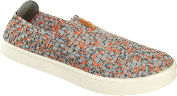 Adesso-Ewan-Grey-Orange-Mens-Elastic-Full-Shoe-A3350