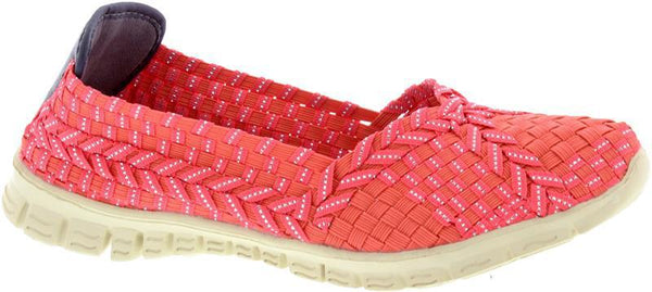 Adesso-Lolly-Coral-Elastic-Full-Shoe-A5326