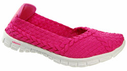 Adesso-Lolly-Fuchsia-Pink-Elastic-Full-Shoe-A3225