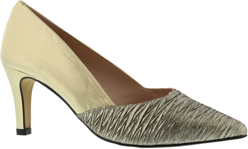 Capollini-Beatrix-Champagne-Occasion-Wear-Court-Shoe-D621