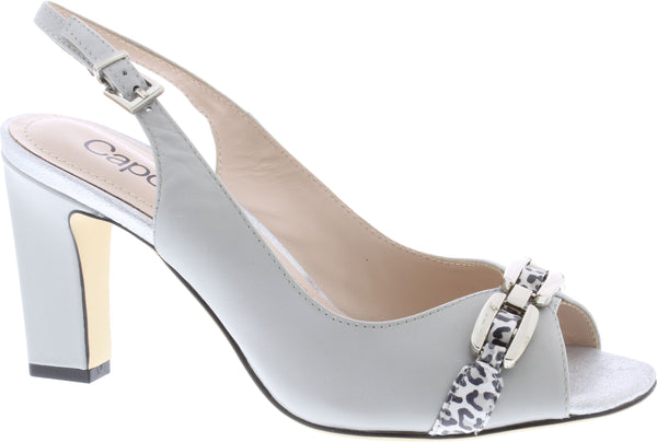 Capollini-Carmen-Grey-Occasion-wear-Sling-Shoe-H594