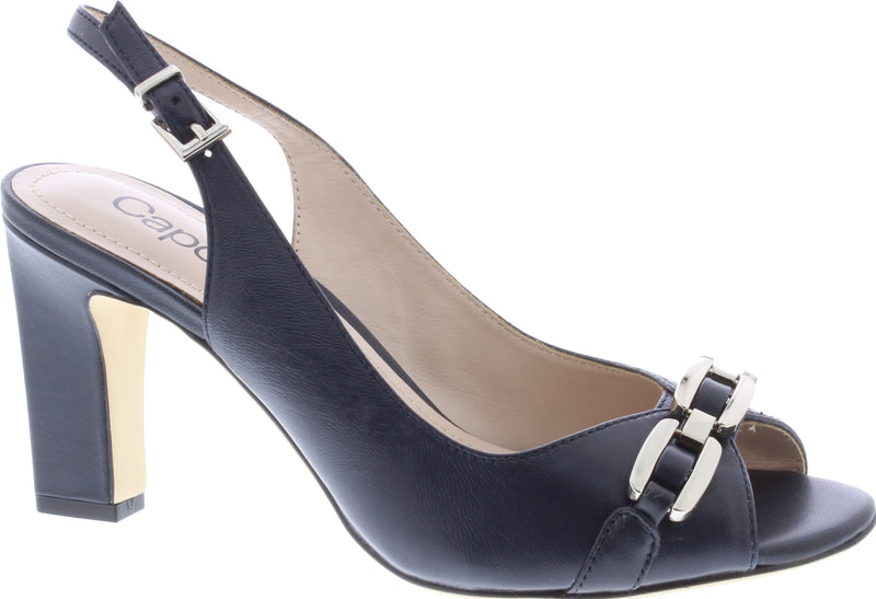 Capollini-Carmen-navy-Occasion-wear-Sling-Shoe-H593
