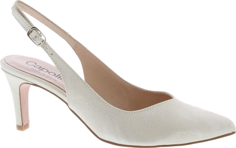 Capollini-Catherine-Champagne-Occasion-wear-Sling-Shoe-H505