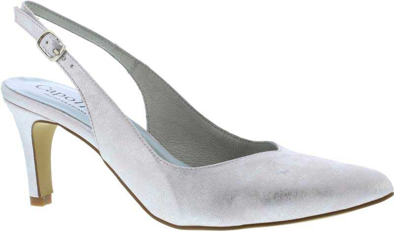 Capollini-Catherine-Silver-Occasion-Wear-Sling-Back-Shoe-G528