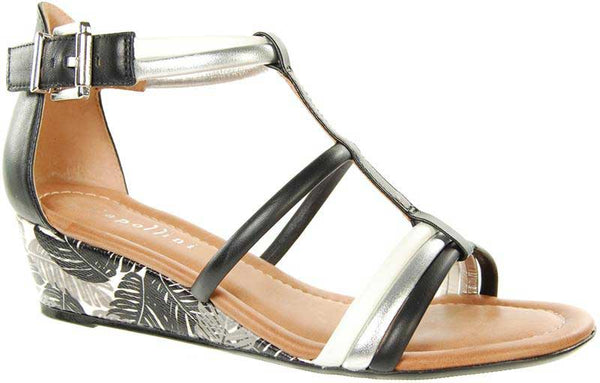 Capollini-Chrissie-Black-Wedge-Sandal-C563