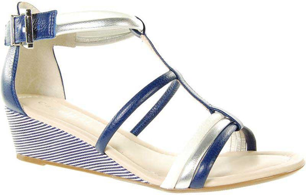 Capollini-Chrissie-Navy-Wedge-Sandal-C562