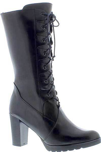 Capollini-Elora-Black-Heelef-Lace-Up-Long-Boot-G564