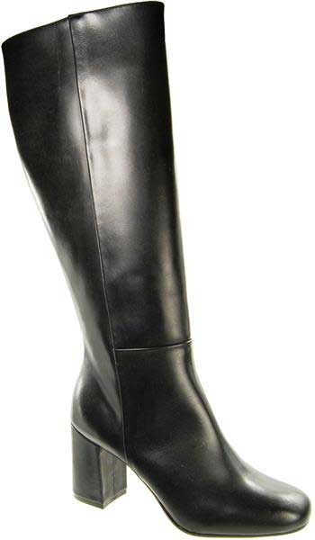 Capollini-Gillian-Black-Long-Calf-Boot-D697