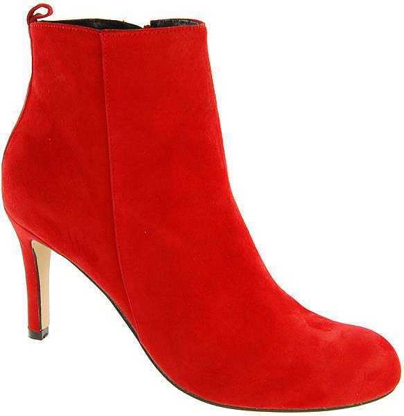 Capollini-Jennifer-Red-Suede-Heeled-Ankle-Boot-D684