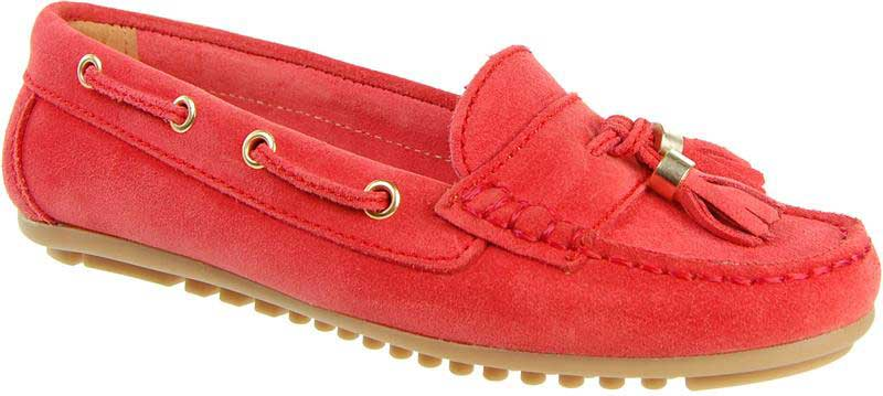 Capollini-Josette-Red-Suede-Loafer-Shoe_C690