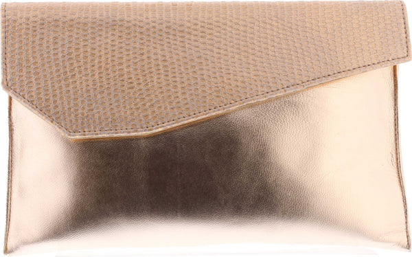 Capollini-Luanne-Rose-Gold-Clutch-Bag-E643