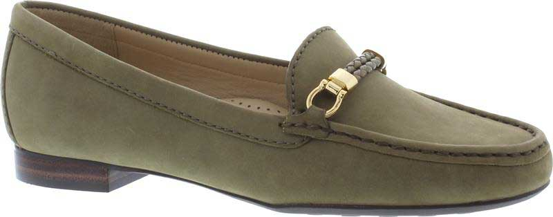 Capollini-Olivia-Olive-Green-Loafer-Shoe-G604