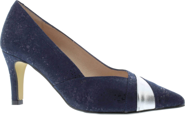 Capollini-Selena-Navy-Silver-Occasion-Wear-Court-shoe-D618
