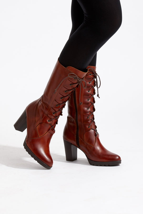 Capollini-Elora-Tan-Long-Calf-Lace-Up-Boot-G565