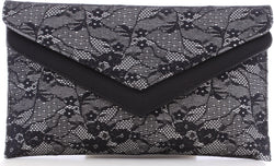 Felicity Black Lace Bag