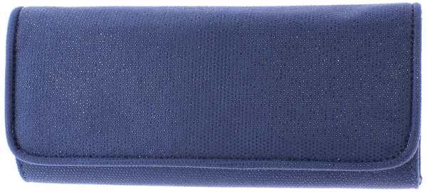 Elsbeth Navy Clutch Bag