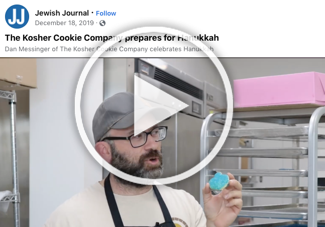 Kosher Cookie Company Launch Featured in LA's Jewish Journal