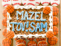 Bar Mitzvah Custom Cookies