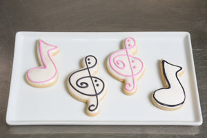 Kosher Cookie Gift Box Music Notes
