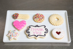 Kosher Cookie Gift Box Thank You Thanks